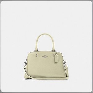 Coach Mini Lillie Carryall, new with tag